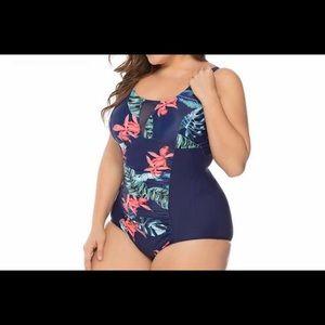 Brand new one piece plus size swimwear